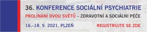 36. Konference Sociální Psychiatrie - registrace